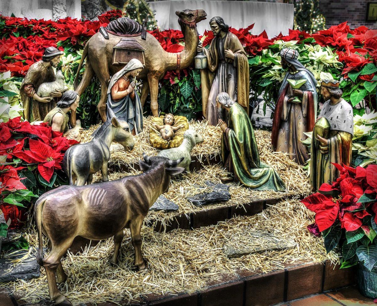 Christmas nativities around the world