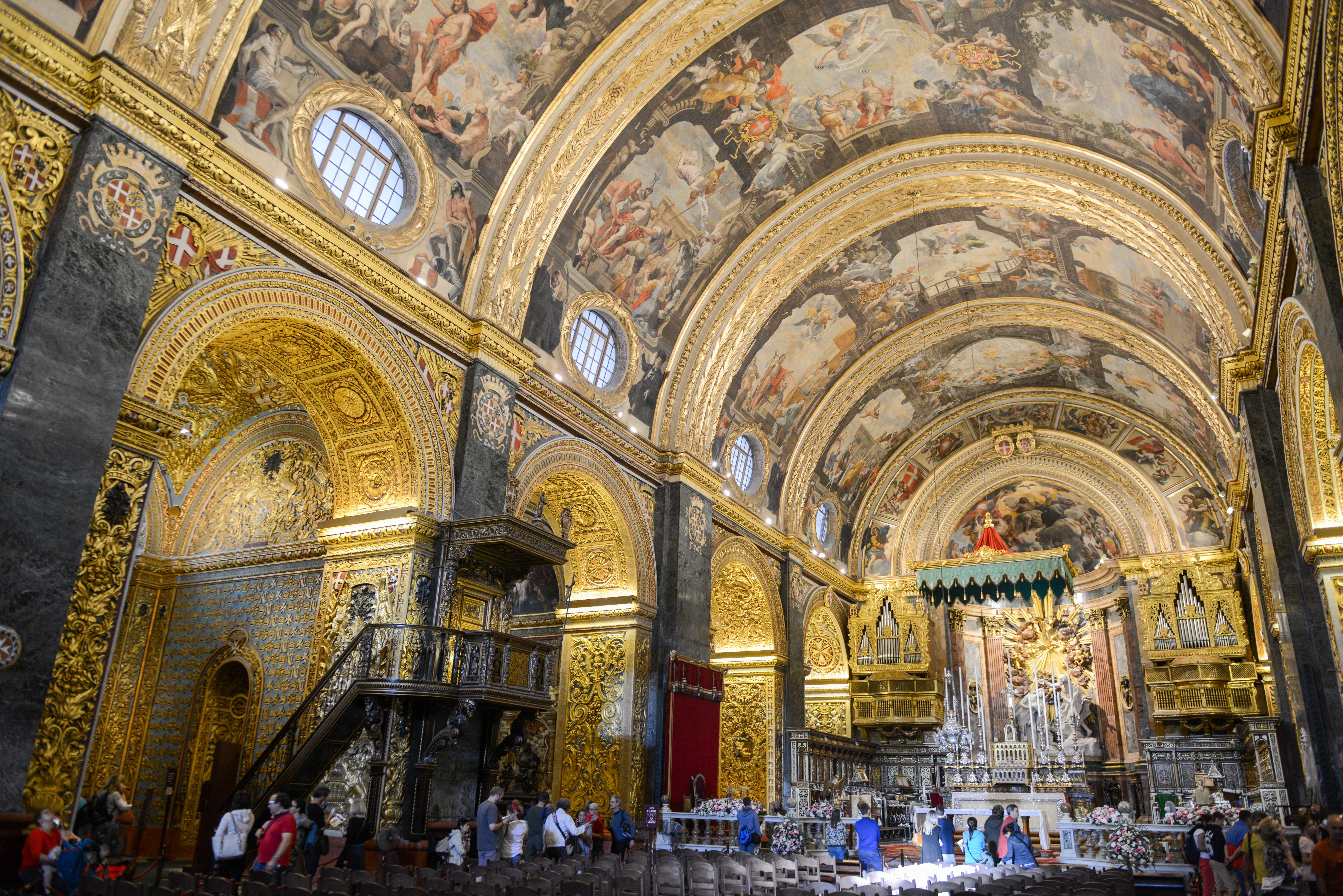 Caravaggio paintings around the world