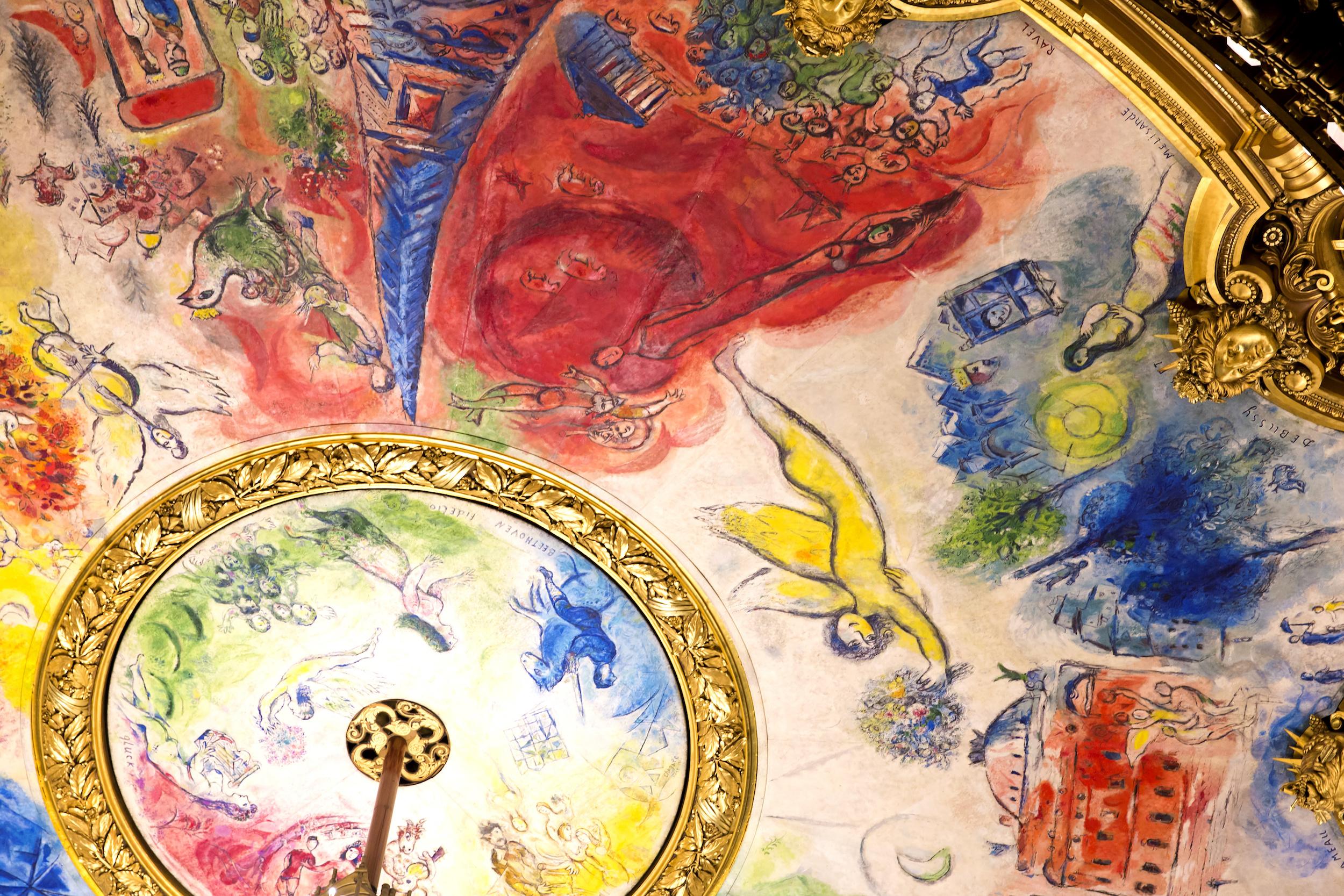 Plafond de l'Opéra Garnier, Chagall