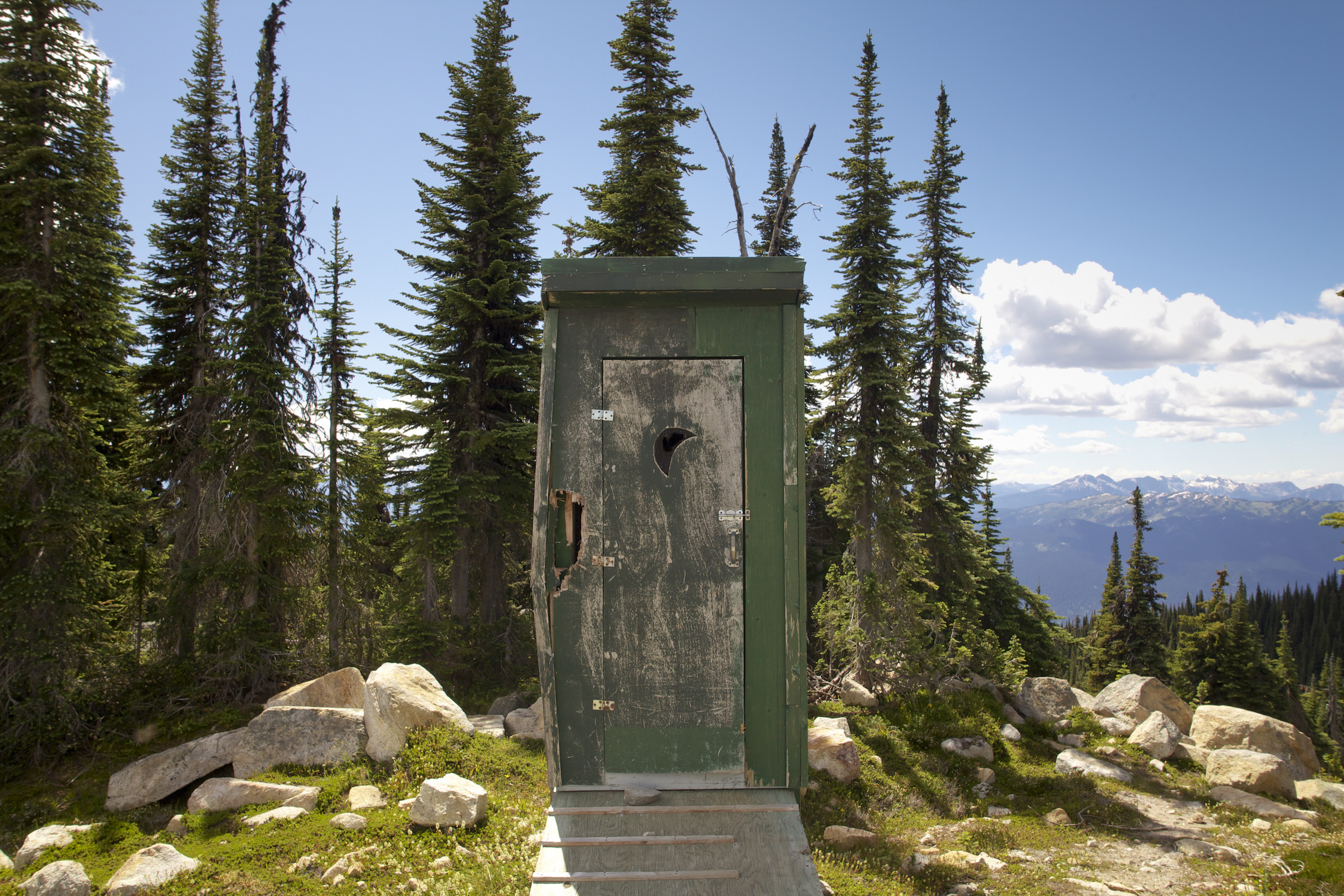 alpine outhouse