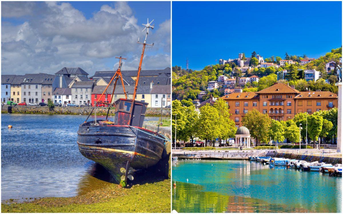 Galway and Rijeka