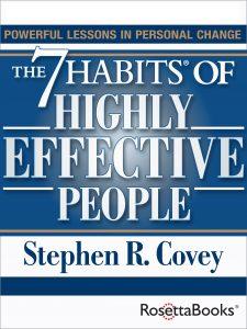 Summer Books 7 Habits