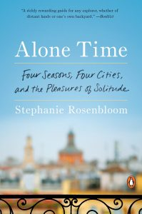 Books for summer Alone Time by Stephanie Rosenbloom