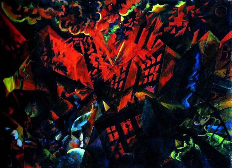 Explosion, George Grosz