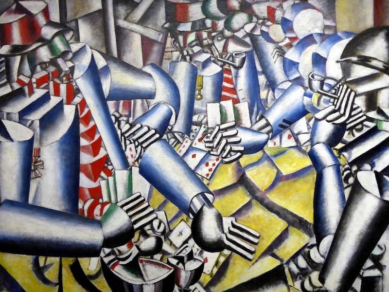 La partie de cartes, Fernand Léger.