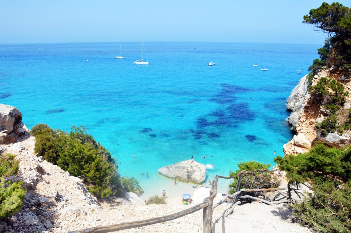 verborgen stranden in Italië