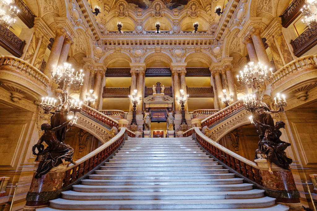 palais garnier, opera of Paris