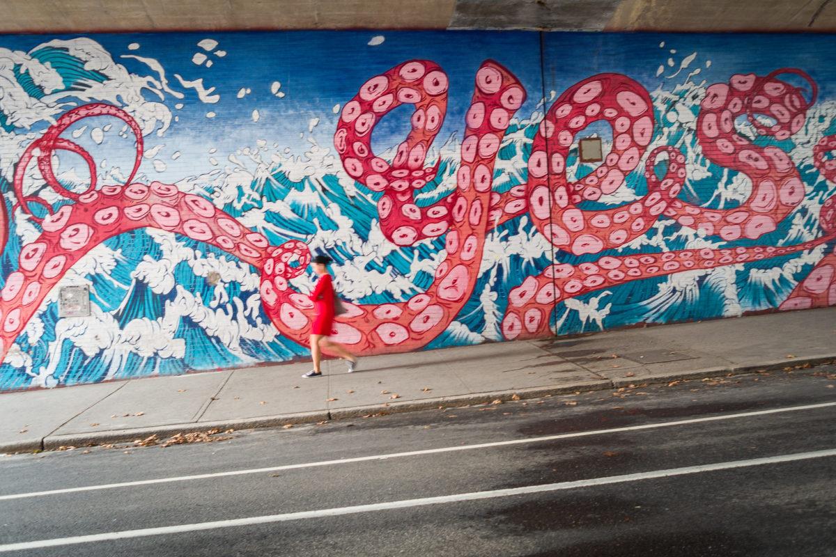 open-air art in New York