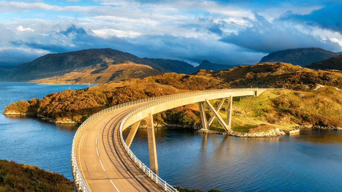 North Coast 500 in Scotland - Kylesku Bridge