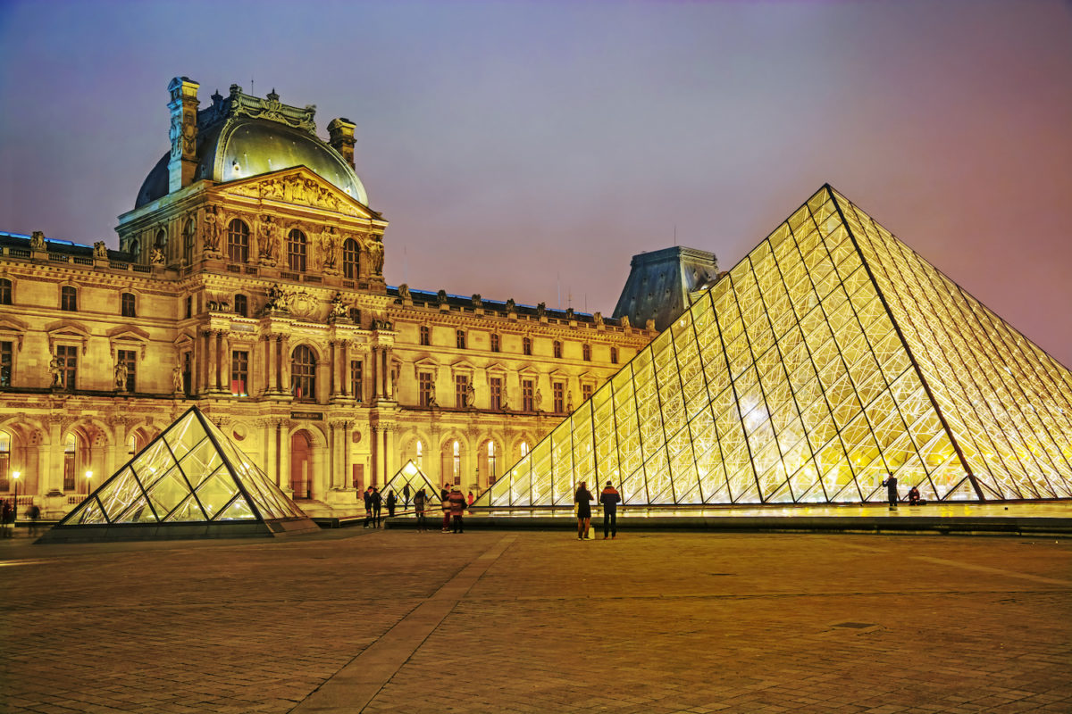 secrets of the Louvre