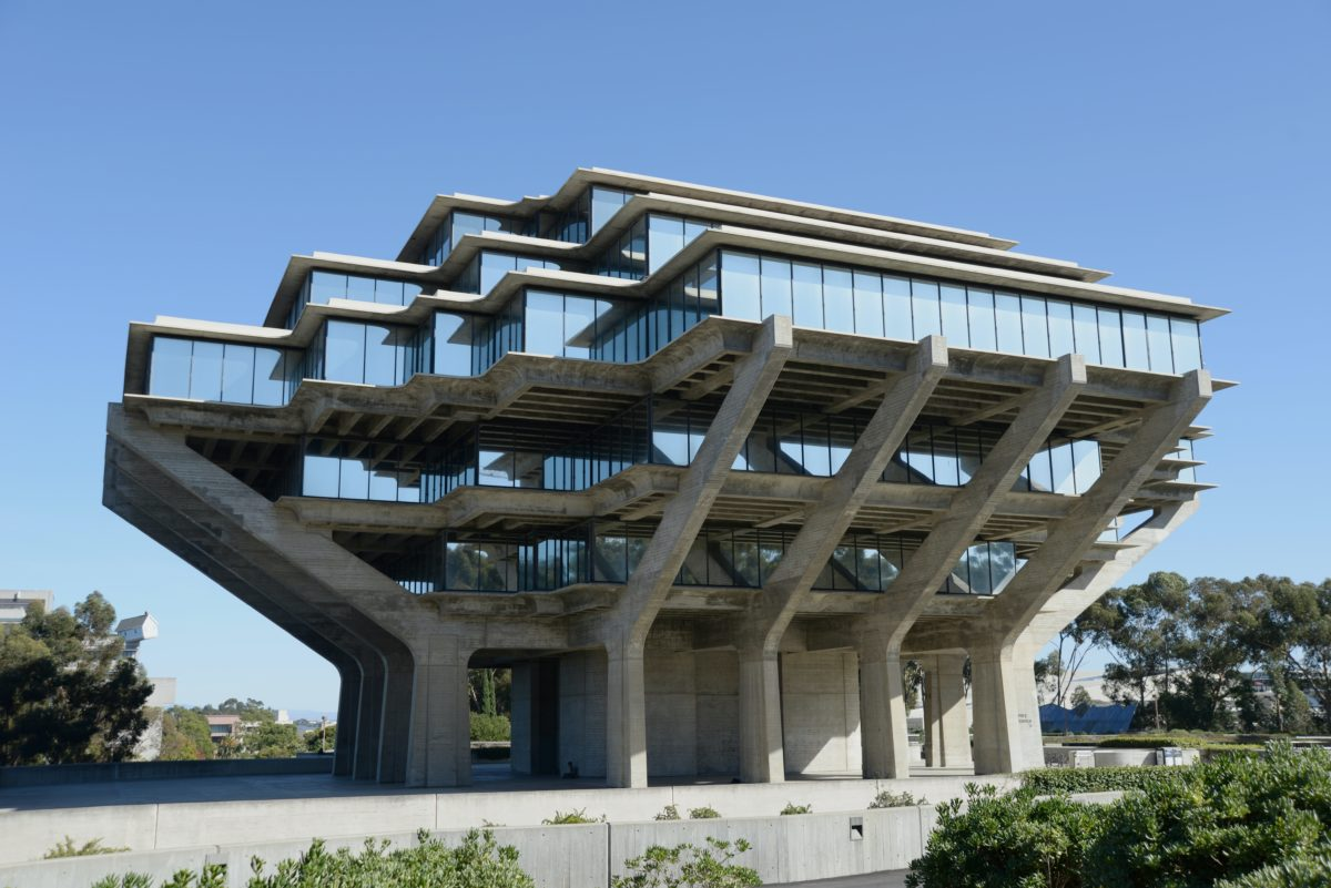 Geisel Library in San Diego, USA