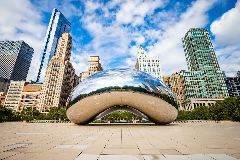 Cloud Gate in Chicago's Millennium Park