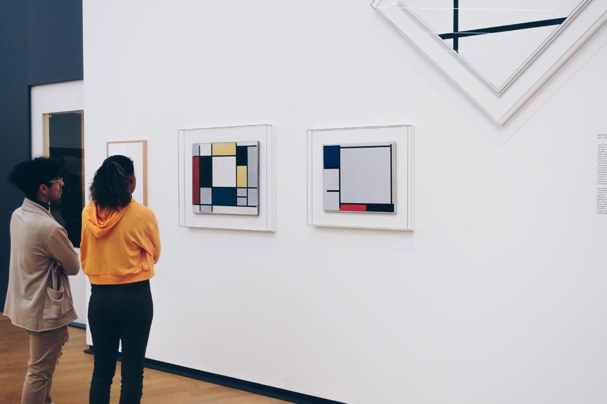 schilderijen van Piet Mondriaan