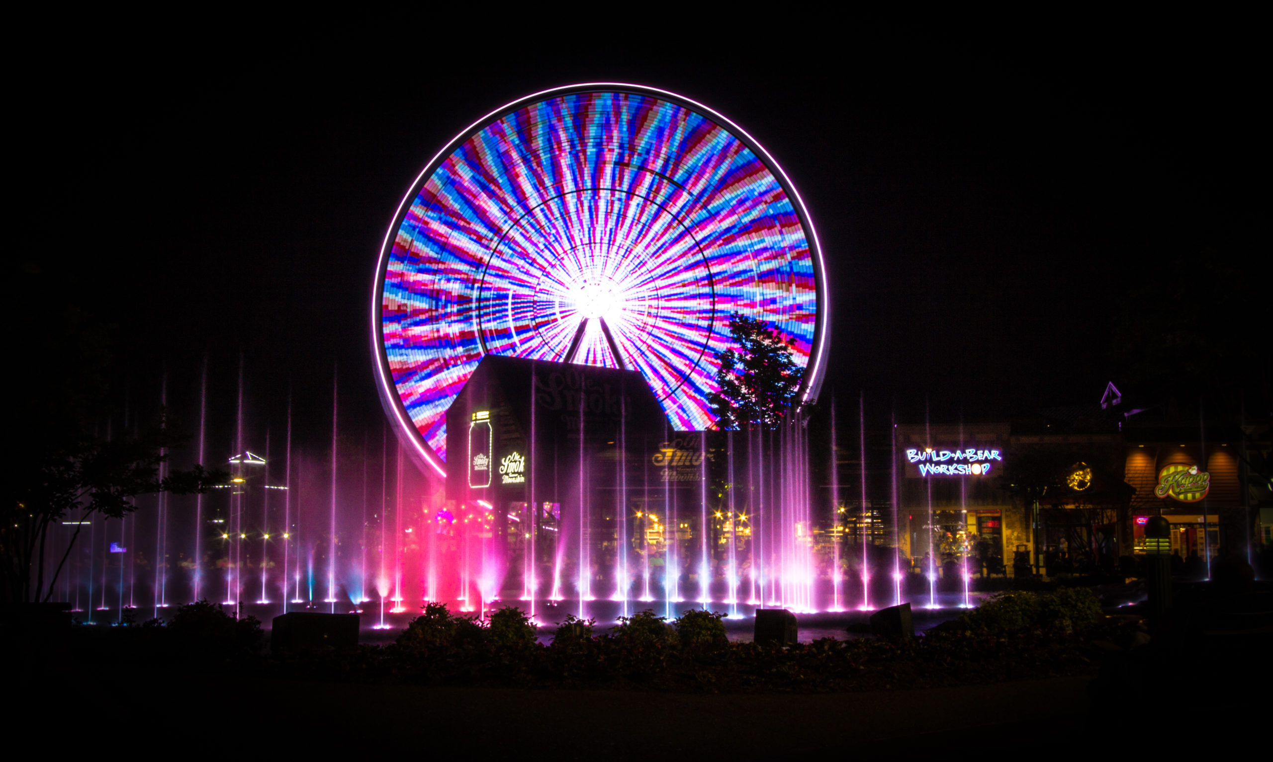 The Great Smoky Mountain Wheel at The Island, Pigeon Forge