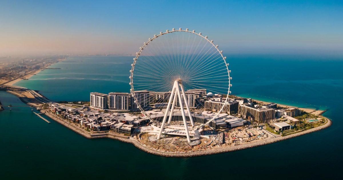 Ain Dubai -  the world's tallest observation wheel