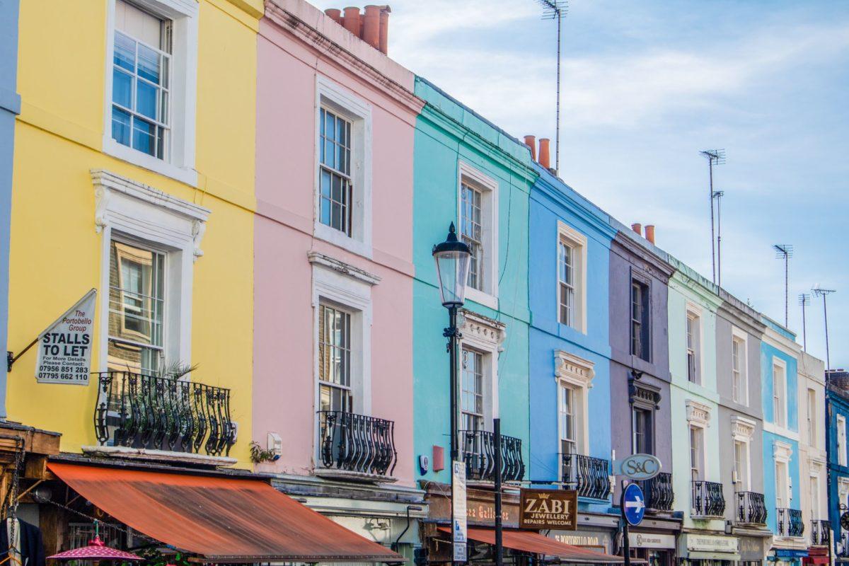 Coolest neighbourhoods in London - Nottinghill