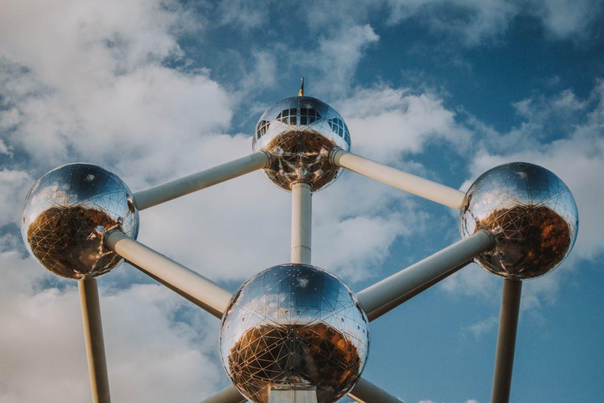 Atomium in Brussel, België