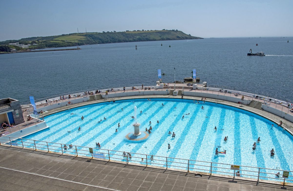 Tinside Lido, Plymouth, outdoor swimming pools in the UK