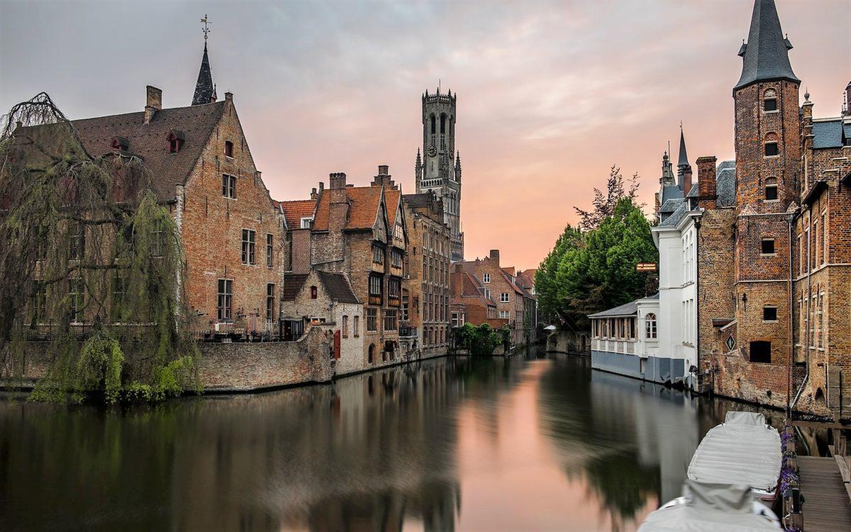 Brugse reien en belfort in Brugge