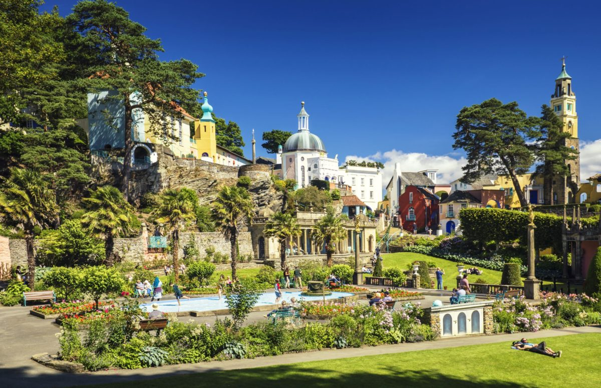 Portmeirion - beautiful places in Wales